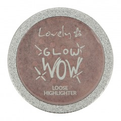 LOVELY Хайлайтер для лица GLOW WOW LOOSE HIGHLIGHTER